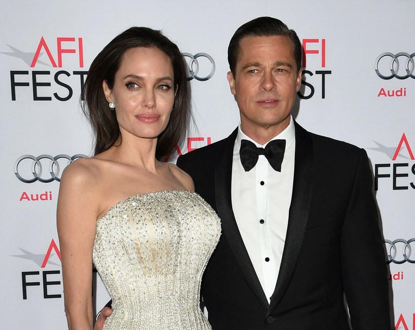 Angelina Jolie i Brad Pitt toczyli batalię o opiekę nad dziećmi. Walka odbyła się na zdrowiu gwiazdy / MARK RALSTON /East News