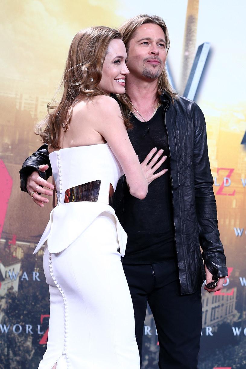 Angelina Jolie i Brad Pitt wzięli ślub! /Andreas Rentz /Getty Images