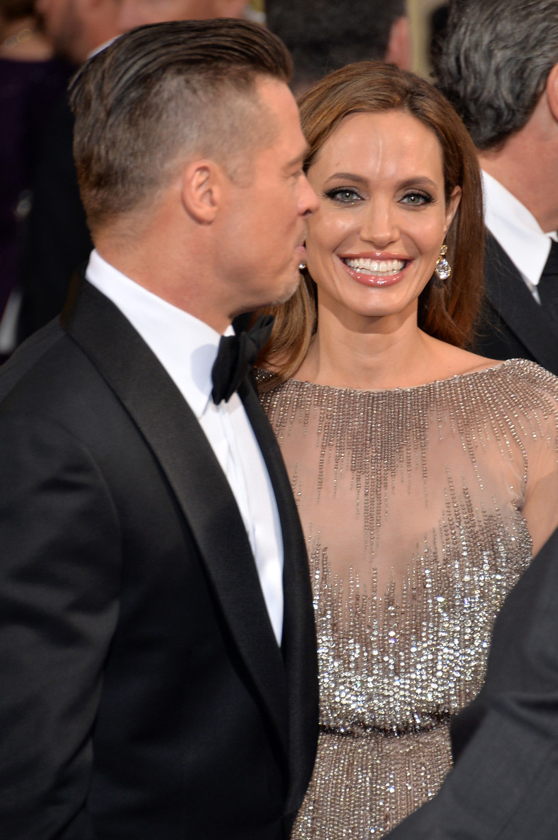 Angelina Jolie i Brad Pitt /Michael Buckner  /Getty Images