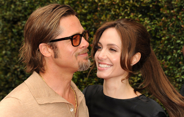 Angelina Jolie i Brad Pitt /Kevin Winter /Getty Images