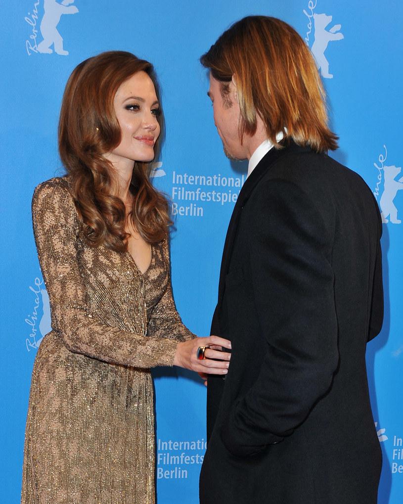Angelina Jolie i Brad Pitt /Pascal Le Segretain /Getty Images