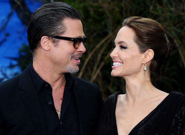 Angelina Jolie i Brad Pitt /Getty Images