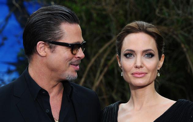 Angelina Jolie i Brad Pitt /Anthony Harvey /Getty Images