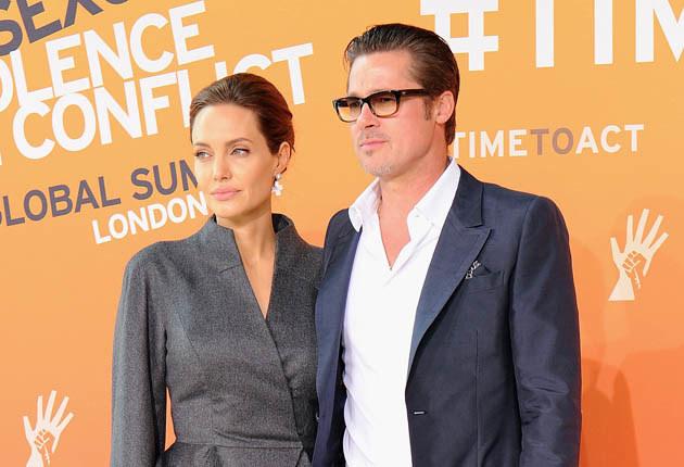Angelina Jolie i Brad Pitt /Eamonn M. McCormack /Getty Images