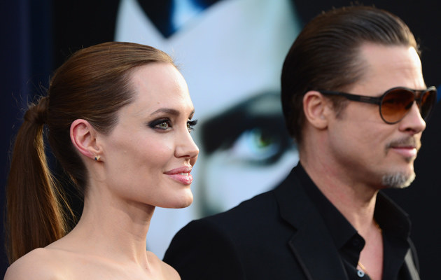 Angelina Jolie i Brad Pitt /Frazer Harrison /Getty Images