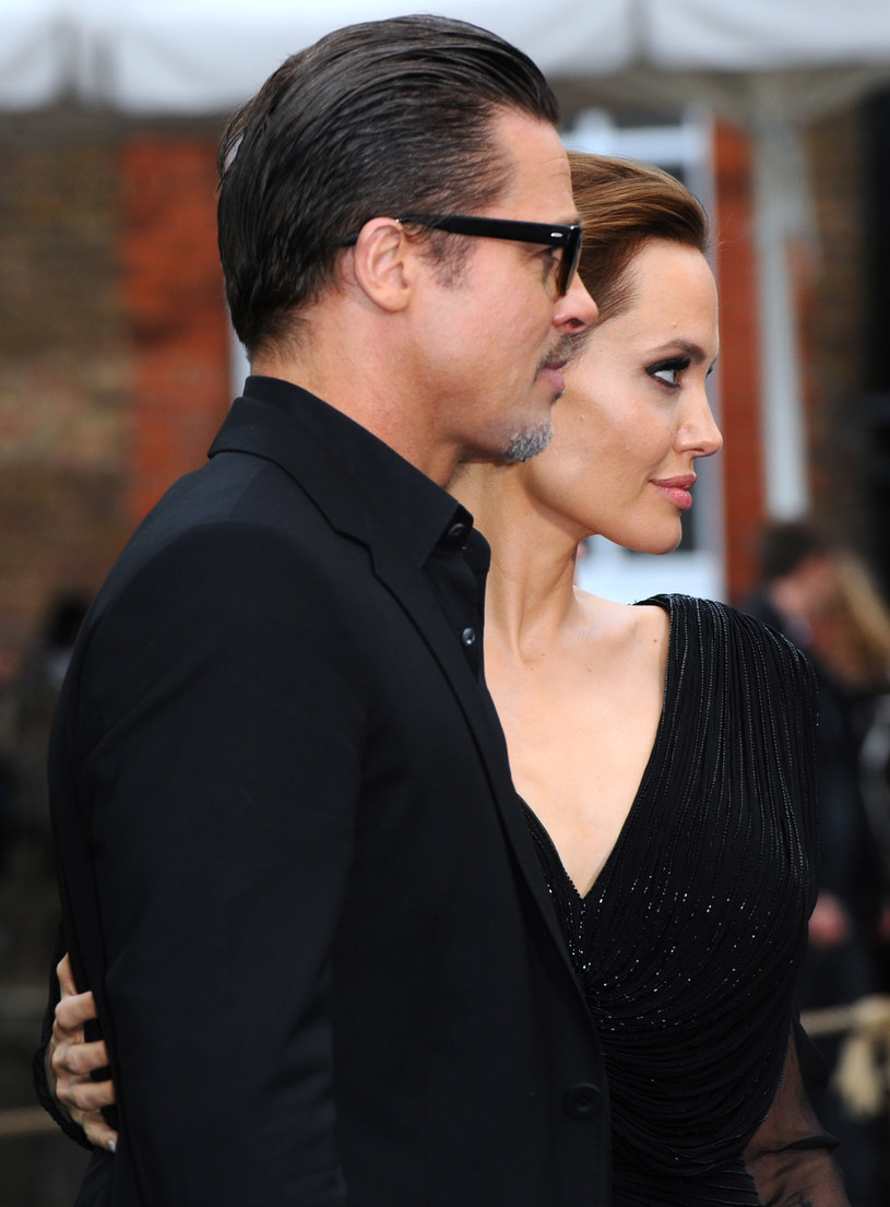 Angelina Jolie i Brad Pitt /Anthony Harvey /Getty Images
