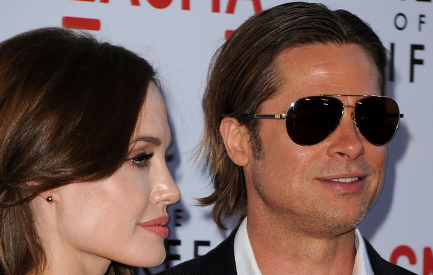Angelina Jolie i Brad Pitt /Jason Merritt /Getty Images