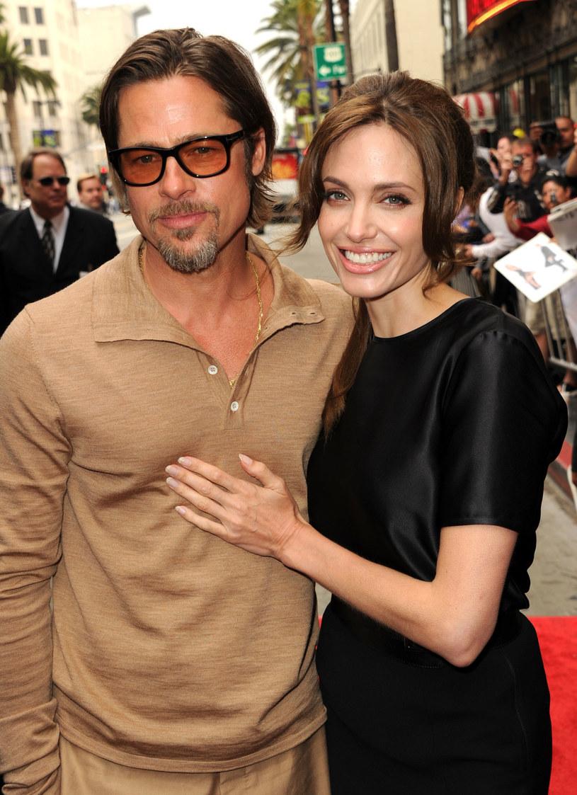Angelina Jolie i Brad Pitt /Getty Images
