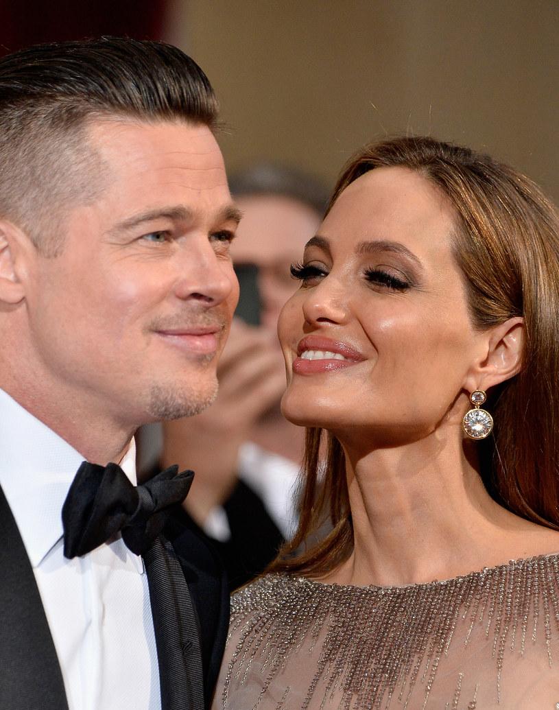 Angelina Jolie i Brad Pitt /Frazer Harrison /Getty Images