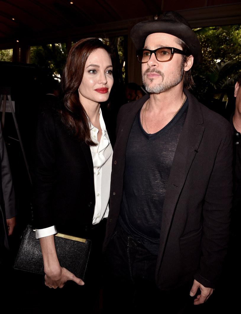 Angelina Jolie i Brad Pitt /Kevin Winter /Getty Images