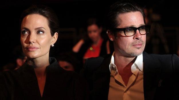 Angelina Jolie i Brad Pitt /AFP