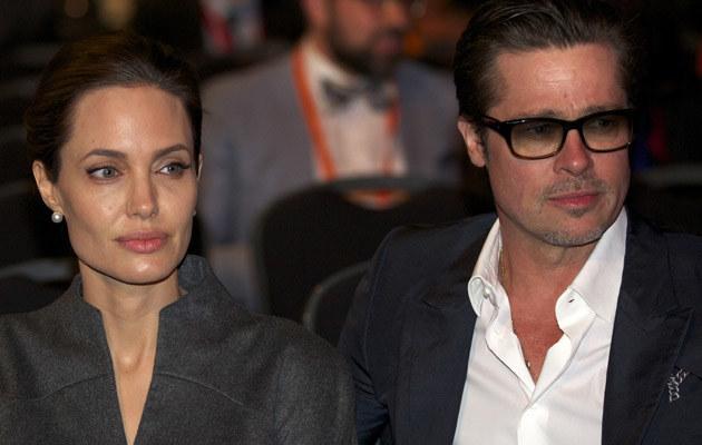 Angelina Jolie i Brad Pitt /ANADOLU AGENCY /Getty Images