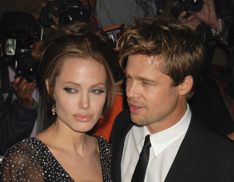 Angelina Jolie i Brad Pitt /Nancy Kaszerman / ZUMA Press / Splash News /East News