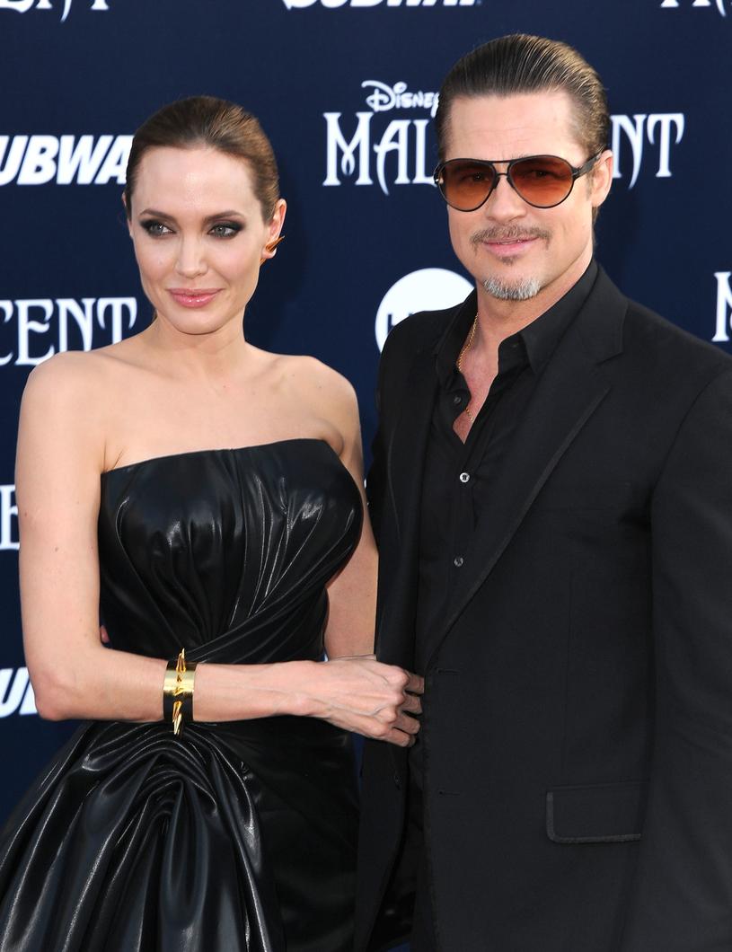 Angelina Jolie i Brad Pitt /Steve Granitz /Getty Images