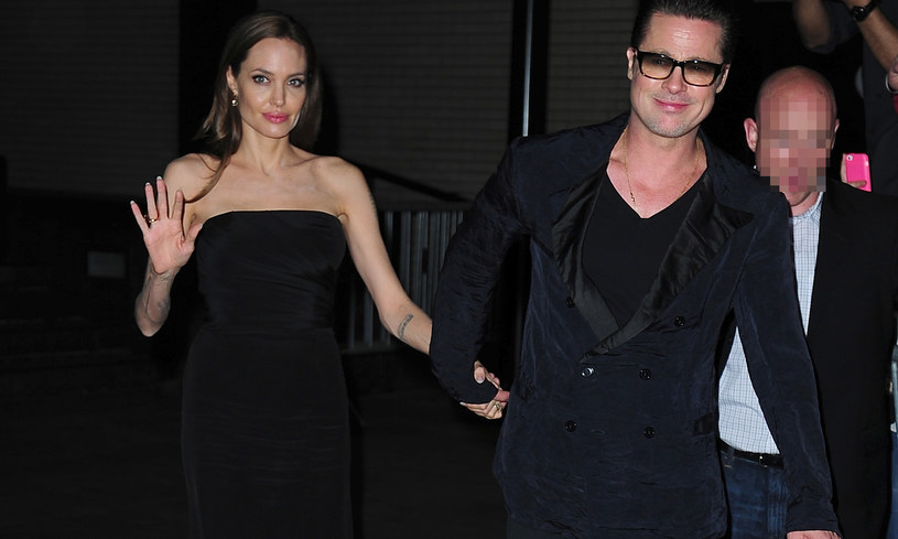 Angelina Jolie i Brad Pitt /Alo Ceballos /Getty Images
