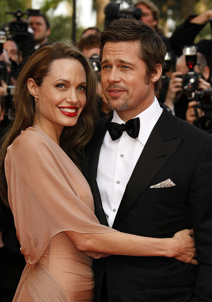 Angelina Jolie i Brad Pitt /Jean Baptiste Lacroix /Getty Images