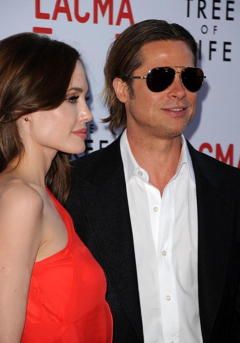 Angelina Jolie i BradPitt /Jason Merritt /Getty Images