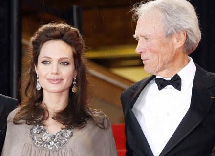 Angelina Jolie i Clint Eastwood, fot. Eric Ryan /Getty Images/Flash Press Media