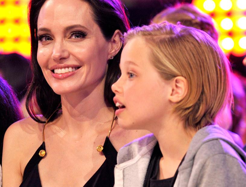 Angelina Jolie i Shiloh Jolie-Pitt /Lester Cohen/KCA2015 /Getty Images