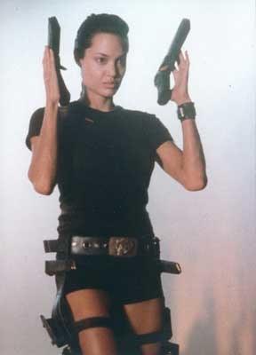 Angelina Jolie jako Lara Croft /INTERIA.PL
