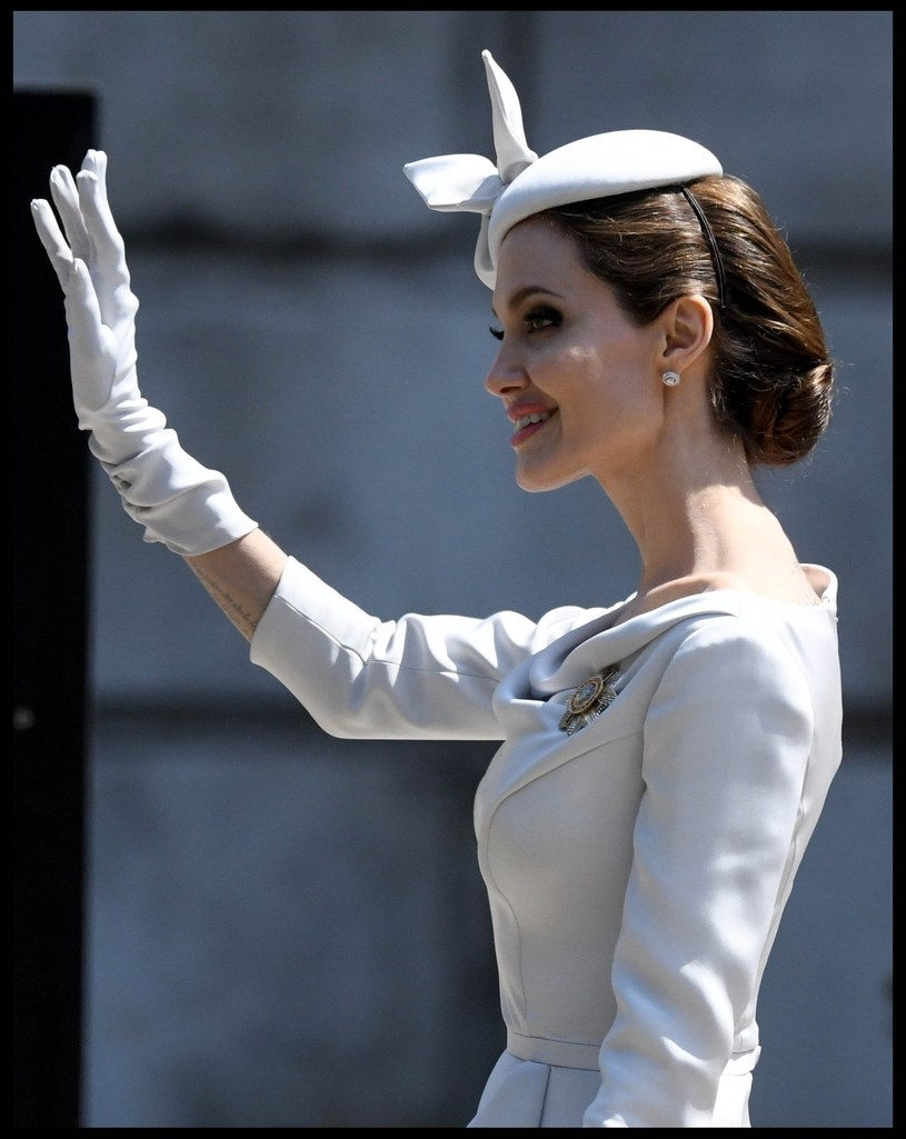 Angelina Jolie jest przerażająco chuda /Stephen Lock / i-Images /East News