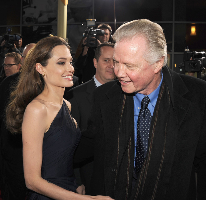 Angelina Jolie, Jon Voight - 2011 r. /Kevin Winter /Getty Images