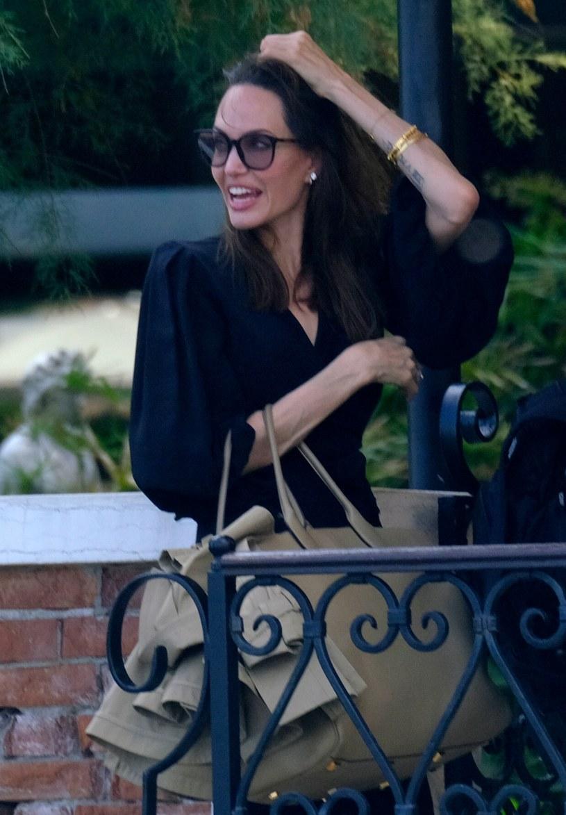 Angelina Jolie na wakacjach w Wenecji /Rex Features/EAST NEWS /East News