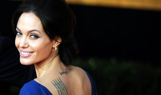 Angelina Jolie nie przestaje zachwycać /AFP