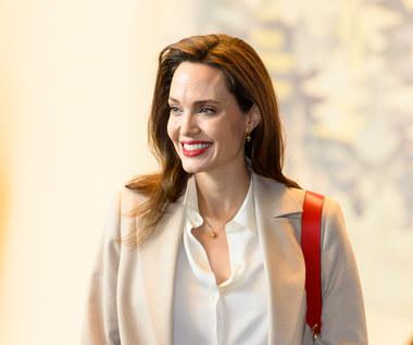 Angelina Jolie odwiedziła byłego męża