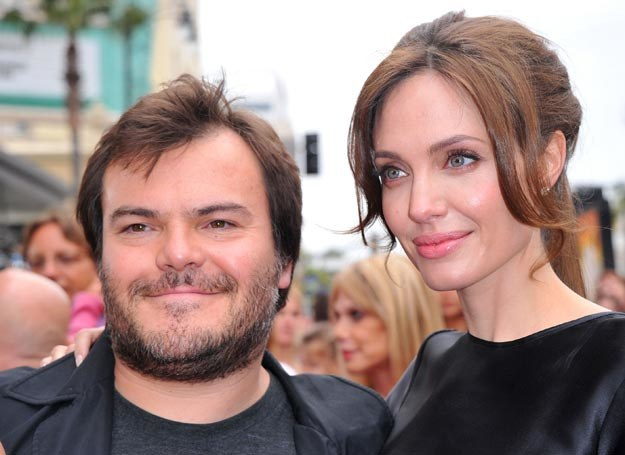 Angelina Jolie przyjaźni się z Jackiem Blackiem /Alberto E. Rodriguez /Getty Images