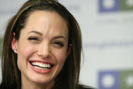 Angelina Jolie przynajmniej wie, co jej partner robi, w czasie kiedy ona pracuje /AFP