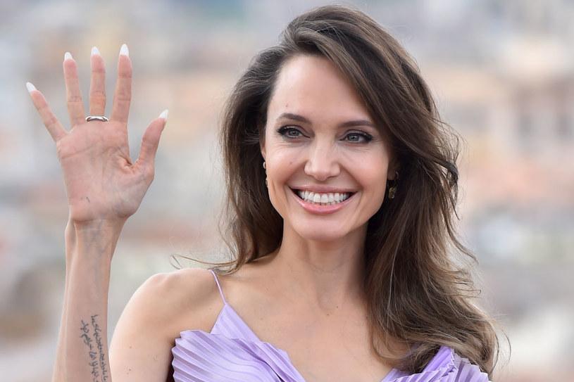 Angelina Jolie spotyka się z piosenkarzem The Weekend! /Massimo Insabato/Archivio Massimo Insabato/Mondadori /Getty Images