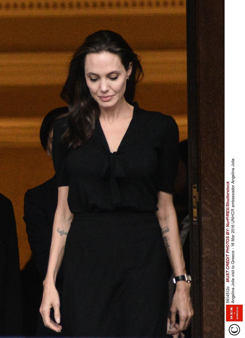 Angelina Jolie tak wyglądała jeszcze nie tak dawno /NurP/REX/Shutterstock /East News