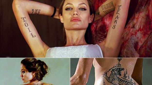 18 Tatuaż Angeliny Jolie Film W Interiapl