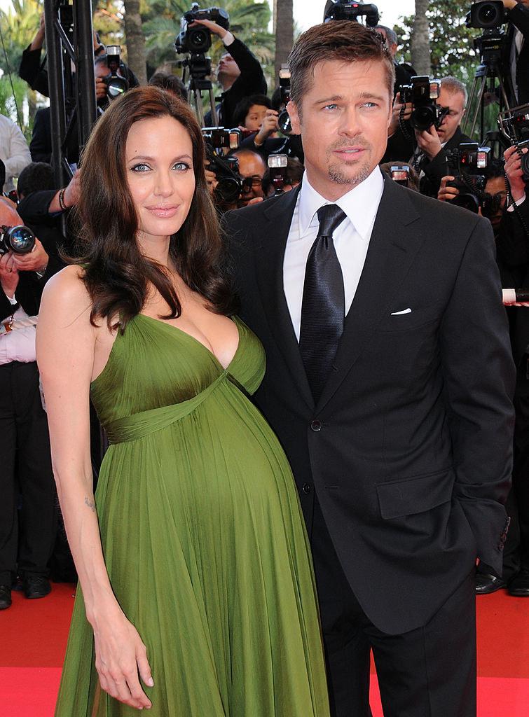 Angelina Jolie w ciąży z bliżniętami /TONI ANNE BARSON /Getty Images