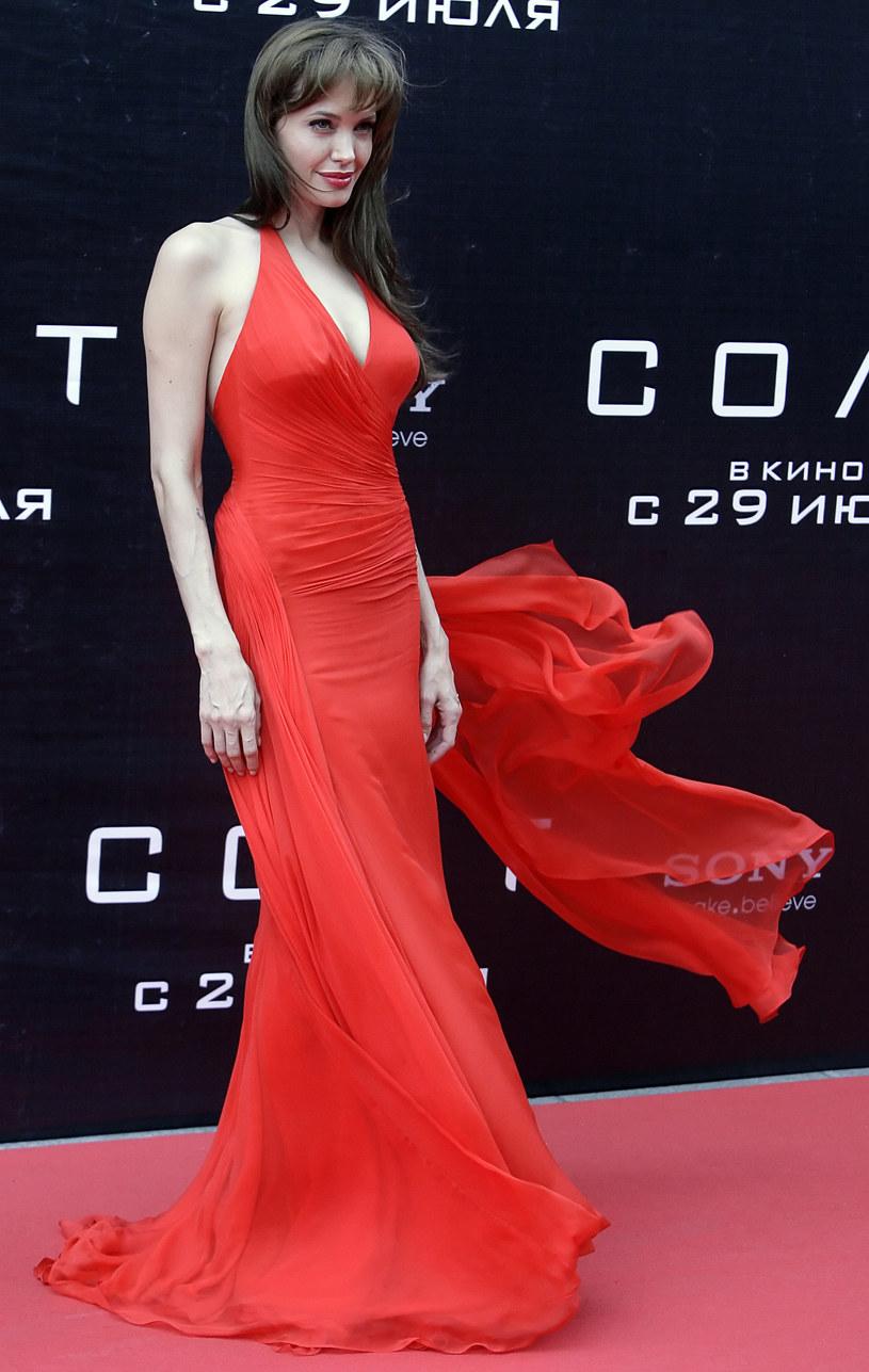 Angelina Jolie w Moskwie  /AFP
