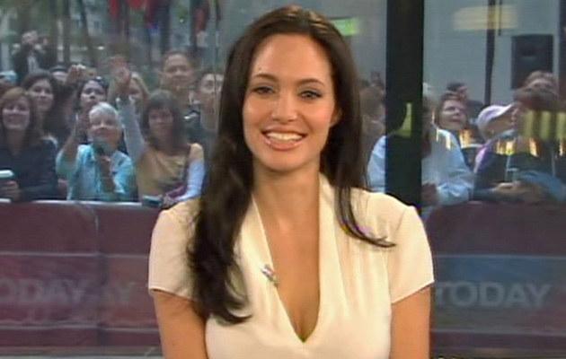 Angelina Jolie w NBC Today Show  /Splashnews