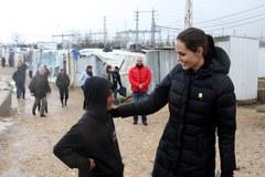 Angelina Jolie w obozie dla uchodźców w Libanie