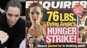 """Angelina Jolie waży 34 kilogramy i jest """"bliska śmierci""""?! Sensacyjne ustalenia tabloidu!"""