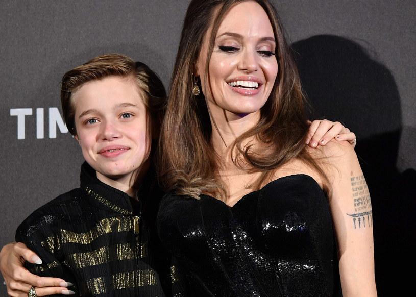 Angelina Jolie z córką Shiloh /TIZIANA FABI/AFP/East News /East News