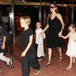 Angelina Jolie z dziećmi. Ale wyrosły!