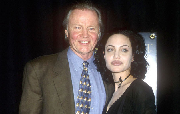 Angelina Jolie z ojcem w 2000 roku, fot. Brenda Chase  /Getty Images/Flash Press Media