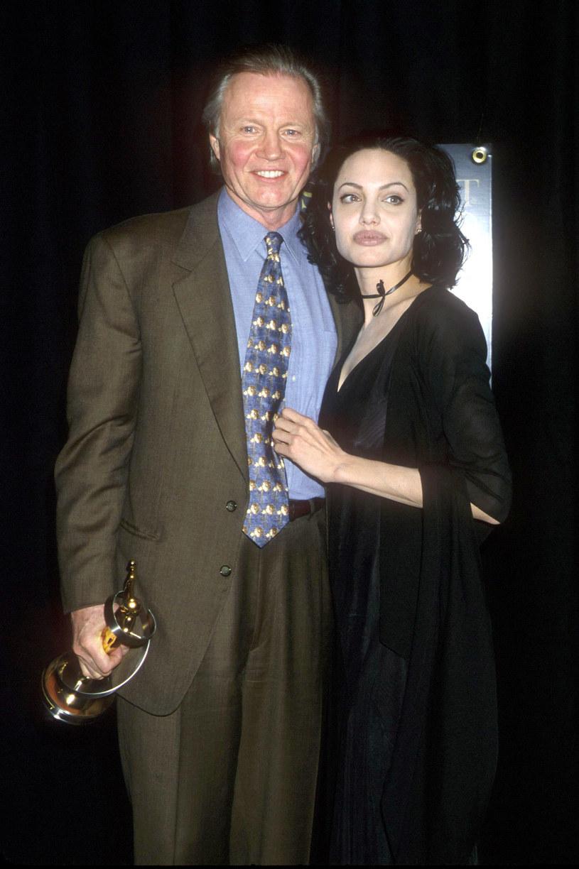 Angelina Jolie z ojcem / Brenda Chase /Getty Images