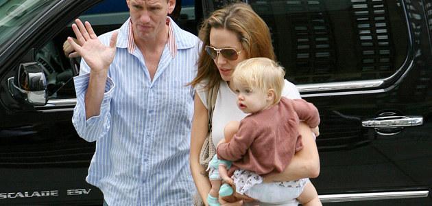 Angelina Jolie z Shiloh  /Splashnews
