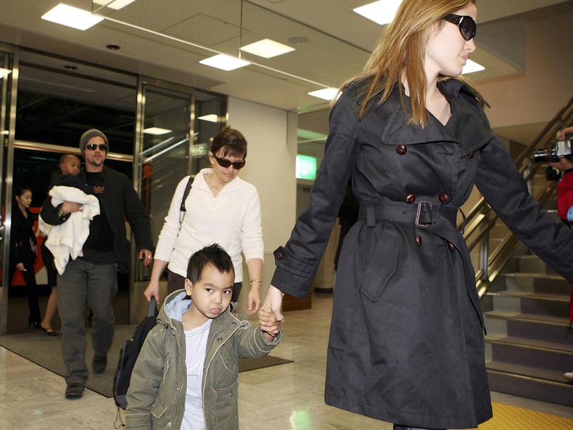 Angelina Jolie zapisała dzieci na terapię /Koichi Kamoshida/Staff /Getty Images