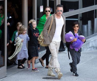 Angelina Jolie zgodziła się, by Brad Pitt spędził święta z trojgiem ich dzieci