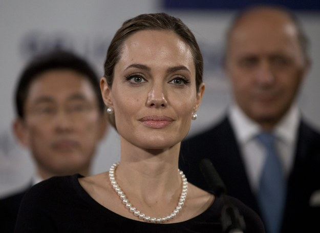 Angelina Jolie /ALASTAIR GRANT / POOL    /PAP/EPA