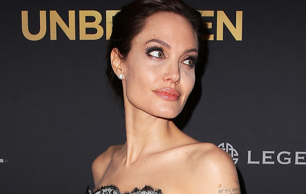 Angelina Jolie /Brendon Thorne /Getty Images