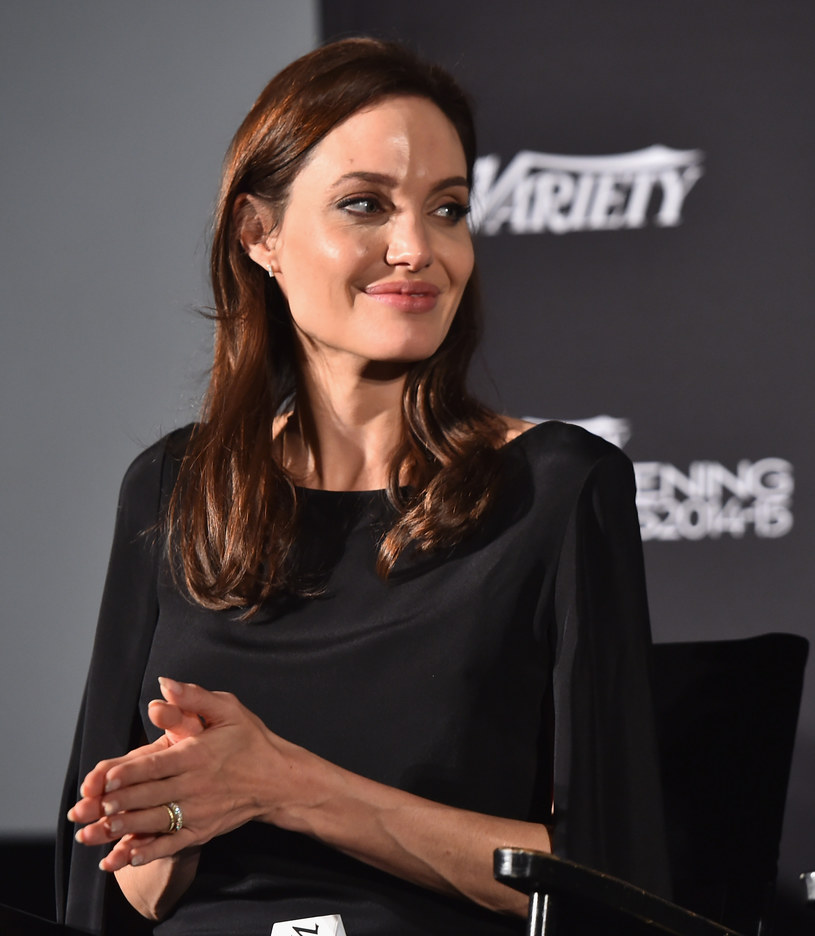 Angelina Jolie /- /Getty Images