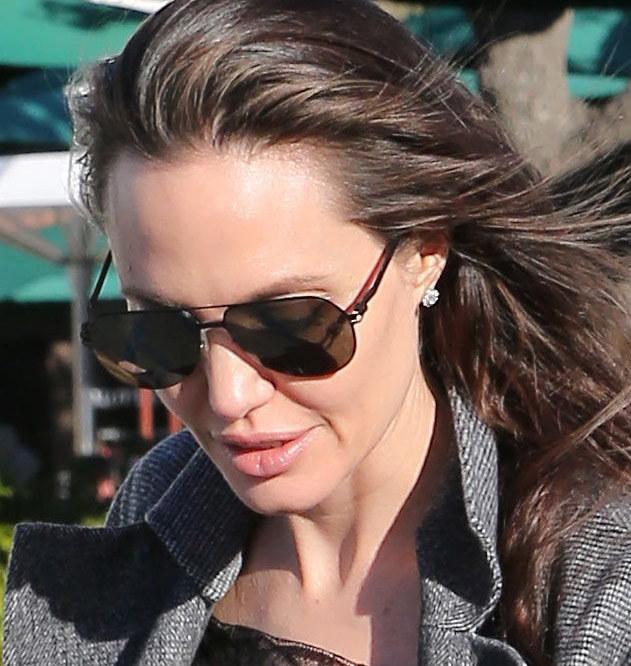 Angelina Jolie /X17online.com /Agencja FORUM